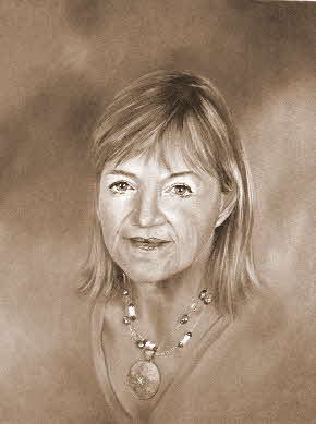 portrait of the artists mother by tonkinson-art